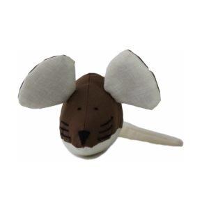 Игрушка для кота мышка мягкая ручной работы шитая