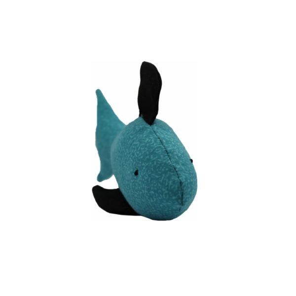 игрушки для кота рыбка голубая