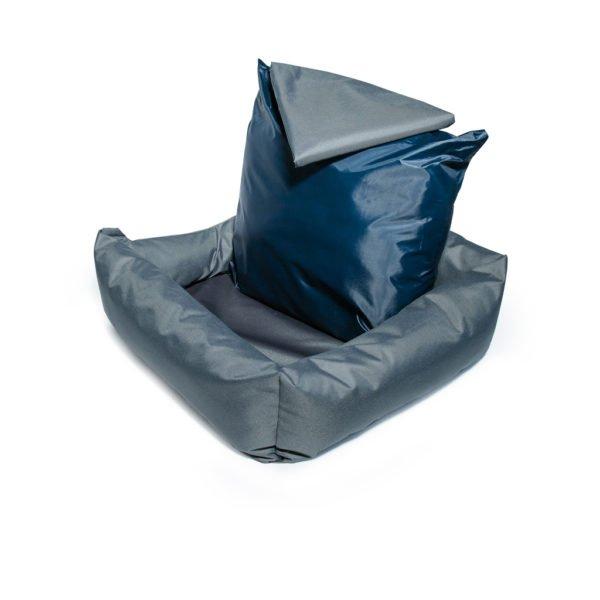 лежак графит с подушкой для кота Cat Joy