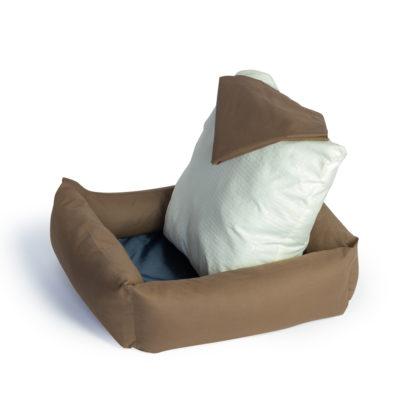 Лежанки и подушки
