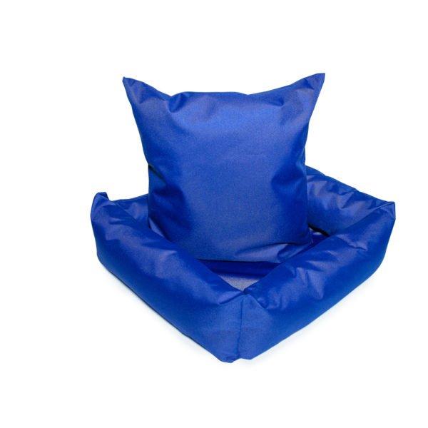 лежак для кота синий Cat joy 01