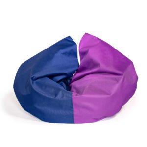 Лежак для кота/ собаки Трансформер темно синяя с фиолетовым Cat Joy